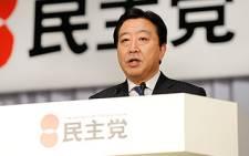 Japan's Finance Minister Noda. AFP