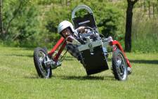 The spider car will go into production at the end of next month in France. Picture: www.swincar.fr/