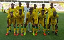 The SA under-23 side ahead of their Olympic qualifier against Angola. Picture: @SAFA_net/Twitter