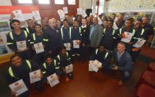 The City of Cape Town's Fire and Rescue Service hosted a certificate ceremony for 91 seasonal firefighters on 23 April 2019. Picture: @CityofCT/Twitter.