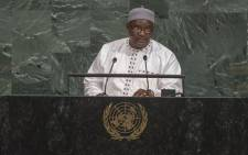President of the Republic of the Gambia, Adama Barrow. Picture: United Nations Photo