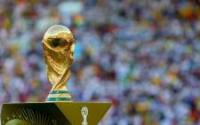 The World Cup trophy. Picture: Facebook.