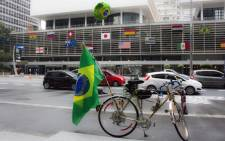 The streets of Brazil during the 2014 Fifa Soccer World Cup.