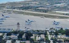 A view of the Mitiga airport in Tripoli. Picture: Google Earth.