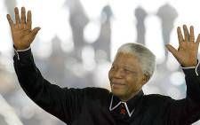 Nelson Mandela - The legend. Picture: AFP