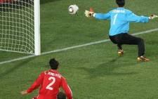 A match in the La Liga season. Picture: AFP