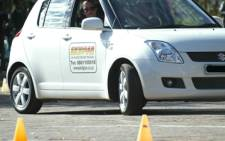 A hopeful learner is doing her driver's licence at a testing station. Picture: Eyewitness News