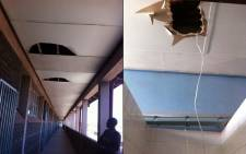 Joe Slovo Engineering High Principal in Khayelitsha had severe vandalism over the past two weeks. Picture: Carmel Loggenberg/EWN