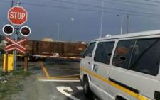 The level crossing in Blackheath, Cape Town, where a train hit a taxi carrying school children in August 2010. Picture: Chantall Presence/Eyewitness News
