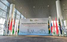 The 4th Annual Meeting of the Brics New Development Bank is expected to bring together role-players from around the globe. Picture: @NDB_int/Twitter