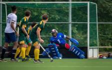 SA men's hockey goalkeeper Siyavuya Nolutshungu has risen from the junior ranks to earn a place in the national hockey team.