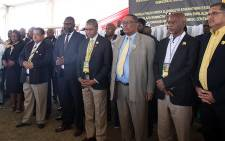 The IFP elected its new leadership at its conference which was held from 23 to 25 August in Ulundi, KwaZulu-Natal. Velenkosini Hlabisa was elected to take over from long-serving leader Mangosuthu Buthelezi.  Picture: Xanderliegh Dookey/EWN