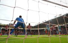 Chelsea's English midfielder Ross Barkley (3R) scores his team's second goal during the English Premier League football match between Southampton and Chelsea at St Mary's Stadium in Southampton, southern England on 7 October 2018. Picture: AFP