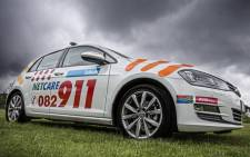 Netcare 911 emergency vehicle. Picture: @Netcare911_sa