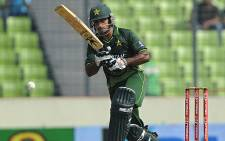 Mohammad Hafeez was appointed Pakistan's T20 captain in May 2012. Picture: AFP.