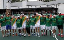 The 2014 South African Davis Cup team. Picture: Facebook.com.