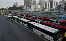 FILE IMAGE: The subway strike comes on the back of the bus driver strike (pictured) in May. Picture: Facebook.com