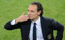 Cesare Prandelli offered his resignation after his team's elimination from the World Cup by Uruguay. Picture: Facebook.