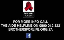 A screengrab shows details of the Brothers For Life campaign. Picture: youtube.com