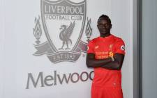 Liverpool's new signing from Southampton Sadio Mane. Picture: Liverpool FC official Facebook page.