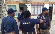 FILE: Task teams carried out blitz operations in crime hotspots in the Cape Peninsula on 14 April 2015. Picture: Natalie Malgas/EWN.