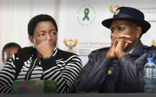 FILE: Department of Social Development's Minister Bathabile Dlamini and the SAPS Police Commissioner Riah Phiyega. Picture: GCIS.