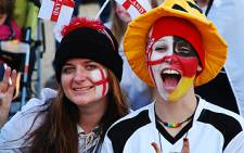 England soccer fans at Euro 2012 tournament. Picture: AFP