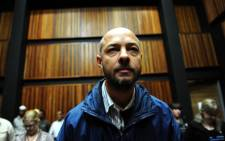 Alleged Sunday rapist Johannes Steyn. Picture: Sapa.