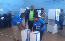 FILE: Patriotic Alliance president Gayton Mckenzie casts his vote in Cape Town. Picture: Facebook.