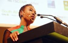 FILE: Minister of Telecommunications and Postal Services Stella Ndabeni-Abrahams addresses the 20th Anniversary of AfricaCom at Cape Town International Convention Centre on 8 November 2017. Picture: GCIS