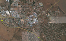 The Council of Geoscience says it's difficult to prove mining is to blame. 8 August 2014. Picture: Google Earth.