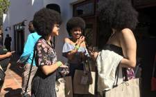 Natural hair enthusiasts. Picture: Monique Mortlock/EWN