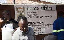 FILE: Department of Home Affairs. Picture: Sethembiso Zulu/Eyewitness News
