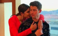 Priyanka Chopra and Nick Jonas. Picture: instagram.com