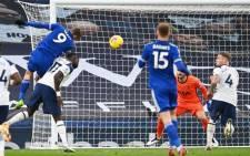 Leicester put a major dent in Tottenham's Premier League title challenge on Sunday. Picture: Twitter @premierleague.