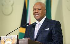 FILE: Minister in the Presidency Jeff Radebe at President Jacob Zuma's update on the State of the Nation address in Pretoria on 11 August 2015. Picture: Reinart Toerien/EWN
