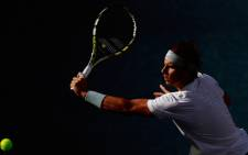 Rafael Nadal of Spain returns a shot against Richard Gasquet of France on Day Thirteen of the 2013 US Open at the USTA Billie Jean King National Tennis Center on September 7, 2013 in New York City. Picture: AFP