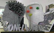 A sculpture created during one of the South African Depression and Anxiety Group (SADAG) outreach programs. Picture: Reinart Toerien/EWN