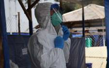 FILE: A new Ebola outbreak has been declared in the Democratic Republic of Congo. Picture: @WHOAFRO/Twitter.