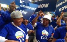FILE: Lobbying for the two men fighting it out to lead the Democratic Alliance (DA) is set to ratchet up a notch. Picture: Vumani Mkhize/EWN
