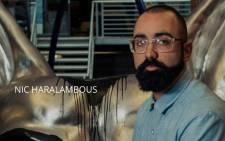 Screengrab of NicHarry founder, Nic Haralambous. Picture: nicharalambous.com