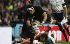 Springboks vs New Zealand in the Rugby World Cup semifinal at Twickenham on 24 October 2015. Picture: Rugby World Cup @rugbyworldcup.