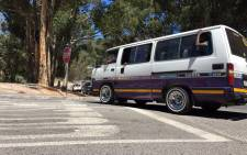 Additional traffic officers were deployed to Hout Bay after a protest by striking taxi drivers flared up again on 16 February 2015. Picture: Aletta Gardner/EWN.