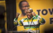 Sdumo Dlamini ahead of the announcement of the ANC's new top 6 on 18 December 2017. Picture: Thomas Holder/EWN