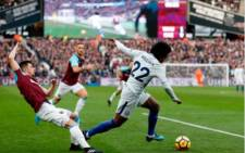 West Ham beats Chelsea 1-0 in the Premier League Championship on Saturday, 9 December 2017. Picture: Twitter