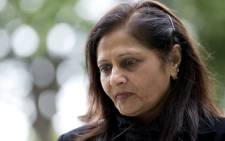 Nilam Hindocha, mother of Anni Dewani, leaves Westminister Magistrates Court in London on 1 July 2013. Picture: AFP.
