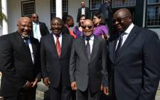 FILE: President Cyril Ramaphosa, Finance Minister Nhlanhla Nene and Jacob Zuma. Picture: GCIS.