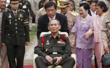 Thai King Bhumibol Adulyadej. Picture: AFP
