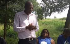 KwaZulu-Natal Democratic Alliance leader Zwakele Mncwango. Picture: @Zwakelem/Twitter