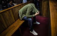 Nicholas Ninow, who is accused of raping a seven-year-old girl in a Dros restaurant, appears in the Pretoria Magistrates Court. Picture: Abigail Javier/EWN